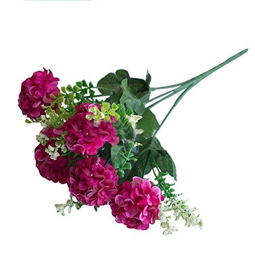 Ypypiaol 1 Ramo De Flores Artificiales Crisantemo