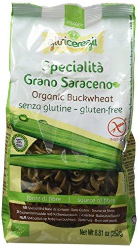 Probios Pâtes aux Sarrasins Fusilli sans gluten Bio 250 g - Lot de 3