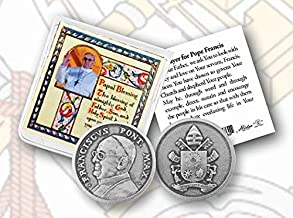 Hail Mary Gifts 10pc, Pope Francis Pocket Coin