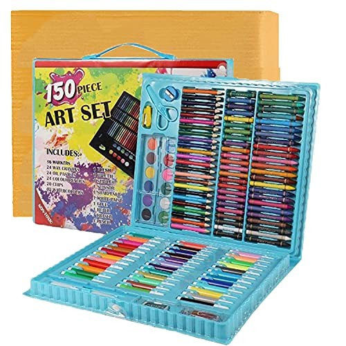 Shuban Artist Drawing Professional Art Set for Kids with Cardboard Package 150 Pieces