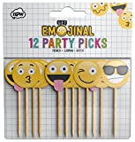 NPW Emoticon Holz Cocktail Sticks Party – Picks Get emojinal