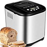 KBS Automatic 2LB Bread Maker Machine, Beginner Friendly Breadmaker with Great Versatility, 15...