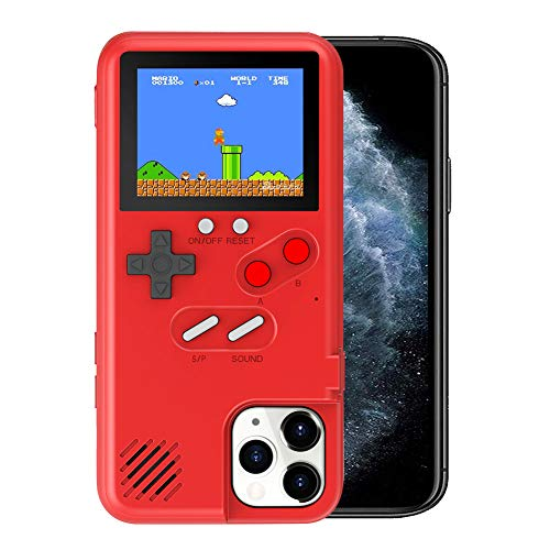 Kesv Gameboy Funda para Phone,Retro 3D Gameboy Design Style Funda de Silicona con 36 Juegos Peque?os, Pantalla a Color, para Samsung Galaxy Note 10 Plus