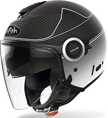 Airoh Herren HEM35 Helmet, schwarz, XL