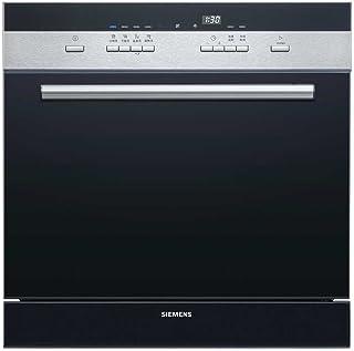【国美自营】Siemens 西门子 SC74M621TI 西班牙原装进口8套洗碗机 组合嵌入式 24小时预约 黑色【大牌?#22270;??#20998;时?#35777;】