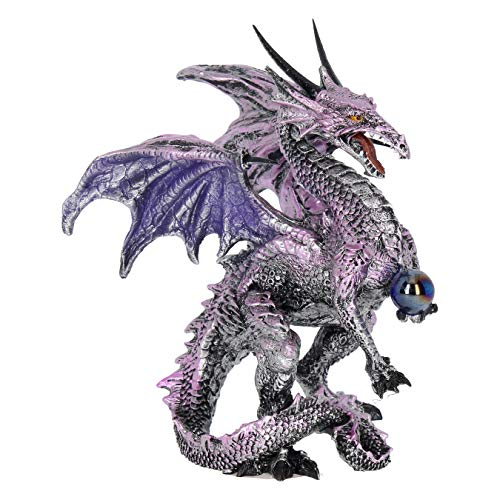 Purple Dragon Protector 15 cm ornament figurine by Nemesis Now AL50263