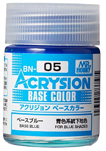 GSIクレオス アクリジョン ベースカラー ベースブルー 18ml 模型用塗料 BN05