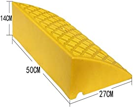 AJZGF Curb ramp Heavy-Duty Plastic Curb ramps - Portable Lightweight Curb ramps for Wheelchair Handicapped Accessories ramp