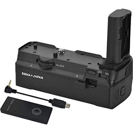 Nikon ニコン 対応 MB-N10 互換 バッテリーグリップ Z5 Z6 Z6II Z7 Z7II シャッターボタン機能付 ロワジャパン 無線リモコン付き