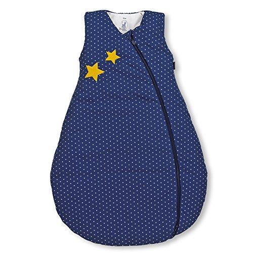 Sterntaler Sterntaler Schlafsack für Kleinkinder, Ganzjährig, Wärmeregulierung, Reißverschluss, Größe: 70, Stanley, Blau