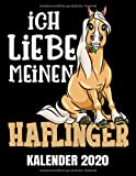 Ich Liebe Meinen Haflinger Kalender 2020: Niedlicher Haflinger Pferde Kalender Terminplaner Buch - Jahreskalender - Wochenkalender - Jahresplaner