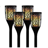 Theater Solutions TT100 Fully Wireless 240 Watt Rechargeable Battery Bluetooth Tiki Torch Speaker 4 Pack Lanterns Link Up to 99 Speakers Wirelessly