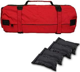 Easy-topbuy Bolsa De Arena para Entrenamiento De Pesas, Saco Peso Fitness De Tela Oxford 900D Sandbag De Peso Ajustable para Entrenamiento De Fuerza Ejercicio Físico