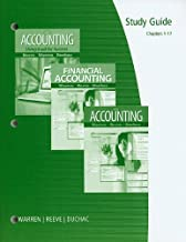 By Carl S.(Carl S. Warren) Warren, James M. Reeve, Jonathan Duchac: Working Papers, Chapters 1-17 for Warren/Reeve/Duchac's Accounting, 24th and Financial Accounting, 12th Twenty-Fourth (24th) Edition