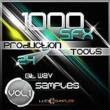 Dj Sample Pack 1000 SFX Production Tools Vol.1 è un insieme di effetti sonori eccezionalmente validi progettati per uso commerciale: produzione musicale moderna, film, TV, DJ