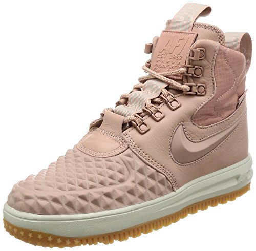 Nike Lunar Force 1 Duckboot Womens Boots Blush Pink - 5 UK