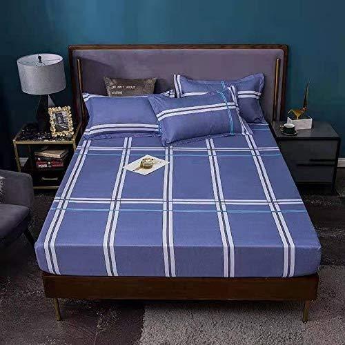 LANG ZI Coprimaterasso/Lenzuolo 150/180 / 200CM Lenzuolo Singolo/Matrimoniale/Lenzuolo Antipolvere Bed Mattress Cover Decorativo. (Color : F, Size : 180x200cm)
