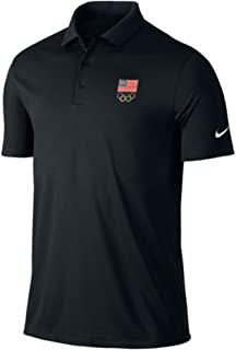featured product Nike Victory Solid USA Logo Golf Polo 2016