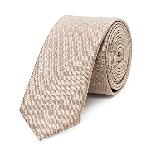 Bruce Field - Cravate fine pure soie lisse
