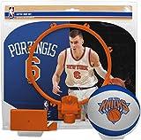 NBA Kristaps Porzingis NBA Basketball Player Hoop Setnba Player Hoop Set (All Player Options), No Color, One Size