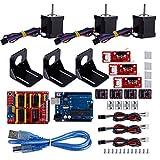 CNC Kit Amortiguadores Alta Calidad para Impresora 3D Compatible para Arduino +4 Acoplamiento 3D Impresora
