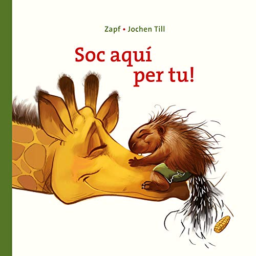 Soc Aquí Per Tu!: Llibre per nens de 2 anys: Llibre de cartó: Per a descobrir que amb una abraçada, tots els mals passen (Contes per explicar)