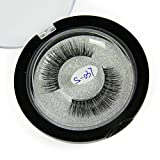 Mink 3D Fake Eyelashes 2 Pairs Fur Fake Eyelashes Hand-made False Eyelashed for Makeup (S-037)