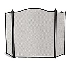 Keep everyone safe with an iron fire screen as a 6th anniversary gift