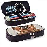 Taucherhelm Leder Cute Pencil Case-Pencil Pouch Briefpapier Organizer