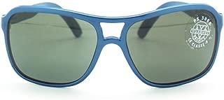 New+Case 260$ Vuarnet 003 Blue Aviator Sunglasses Px3000 Anti Glare Mineral Lens