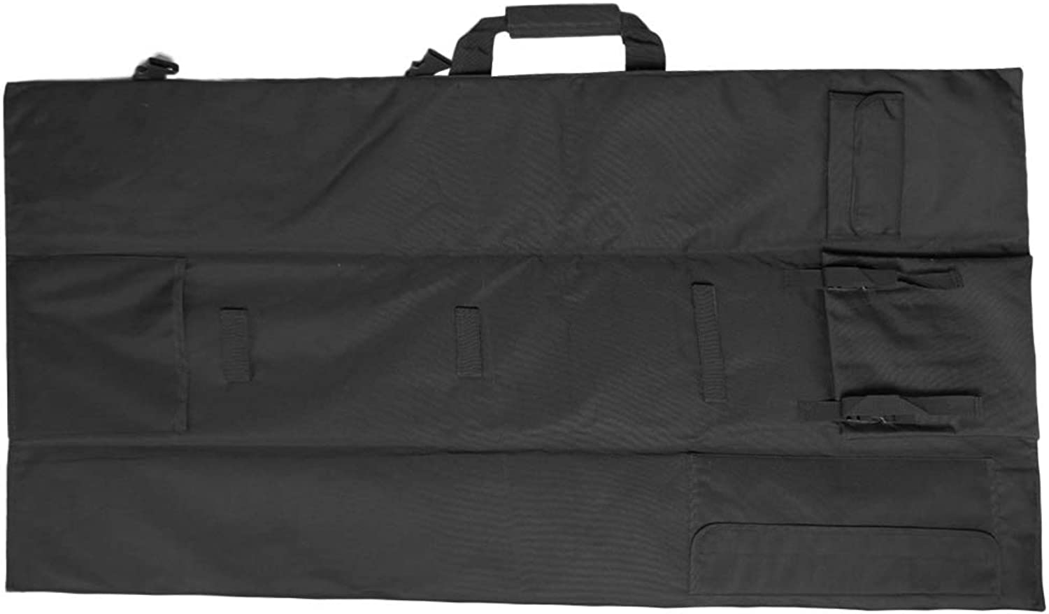 MagiDeal Fishing Rod Holdall Bags Outdoors Organizer Tackle Rod Carry Case Expandable as Seat Cushion