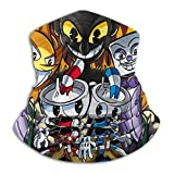 aifaqukuanga Cuphead Don T Deal with The Devil Face Mask Unisex Multifonction Microfibre Neck Warmer Bandana