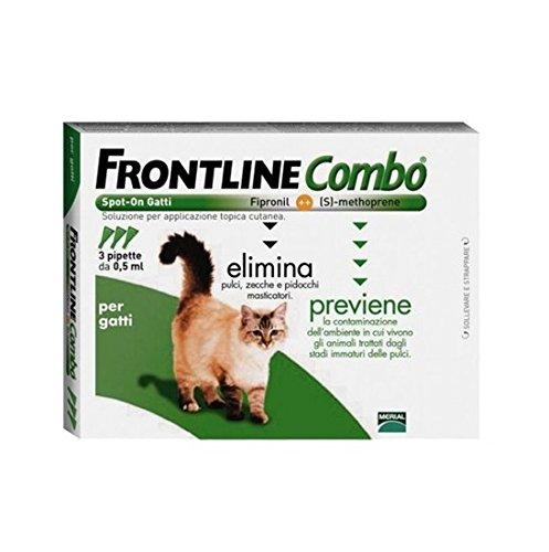 Frontline Combo gatto o furetto (3 pipette) -...