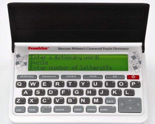 Merriam-Webster CWP-570 Crossword Puzzle Dictionary