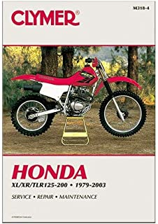 Clymer 86-02 Honda XR200 Service Manual