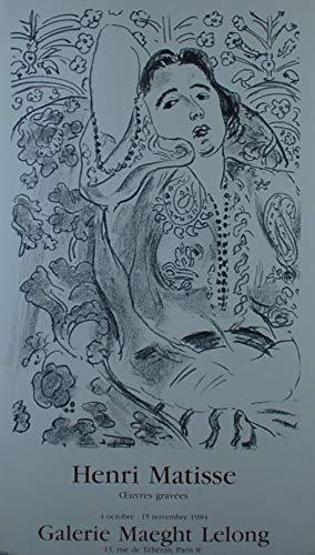 ギャルリーアデカ マチス美術館ポスター mt-1