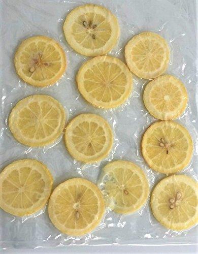 国産冷凍レモン( 瀬戸内レモン)スライス レモンスライス バラ凍結品  約10-12枚/袋 × 2袋 【消費税込み】