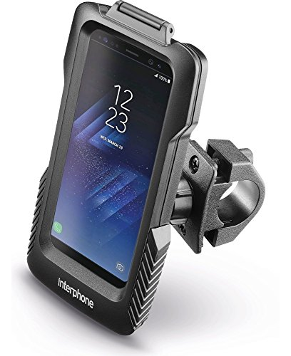 INTERPHONE SMGALAXYS8 Fundas Galaxy S8 para Moto, Negro