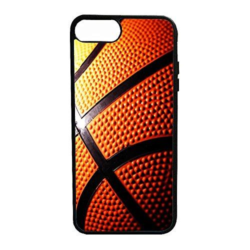 Cover Gomma TPU Palla da Basket Pallacanestro Alta QUALITA' (iPhone 7)
