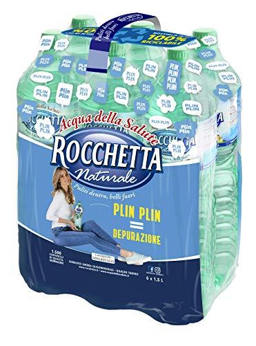 Rocchetta Acqua Naturale - 1.5L (Confezione da 6)