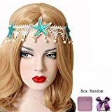 Bodermincer Mermaid Sea Star Starfish Hairbands Mermaid Hair Accessories Headband Mermaid Costume (Starfish Headband)