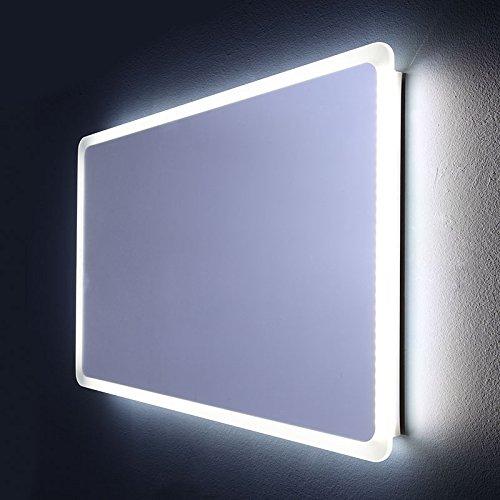 SPECCHIO BAGNO ILLUMINATO A LED STONDATO 60 X 120 CM   DALLAS