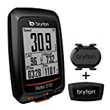 Bryton Rider 310 GPS Cycling Computer (1.8' Display, 310T - with Smart Cadence + HRM)
