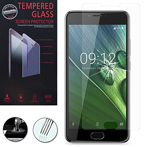 VComp-Shop® Hochwertige gehärtete Panzerglasfolie für Acer Liquid Z6 Plus 5.5