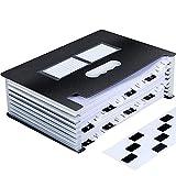 Uquelic Tecla de Piano Clasificadores Carpetas de Acordeón 24 Bolsillos Clasificadores de...