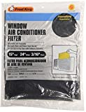 wall air conditioner filter - Frost King, 15 x 24 x 3/16, Black