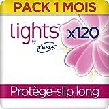 Lights By Tena Protège-slip Long pour Fuites Urinaires / Incontinence (Pack 1 mois de 120 )