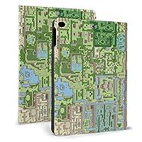 """夢をみる島 地図 タブレット保護ケース iPad Mini4/5 7.9 インチ iPad Air1/2 9.7 インチ タブレット ドロップショック保護ケース 軽量防塵フル保護ケーススクラッチシェル iPad mini4/5 7.9"""""""