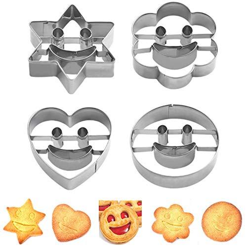 Smiley Keksform Smiley Keksausstecher...