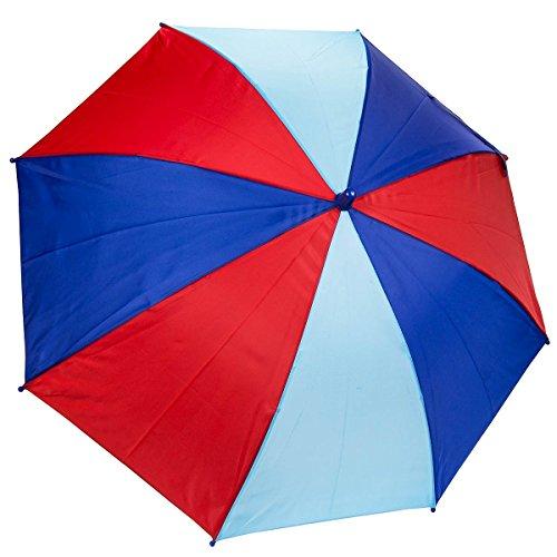 Dr. Neuser Parapluie coloré pour enfant - - bleu/rouge, Taille unique
